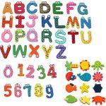 lettere magnetiche per frigo