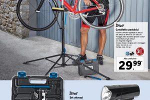 cavalletto bici lidl 2021