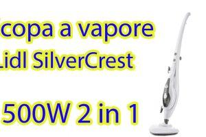 scopa a vapore silvercrest lidl video